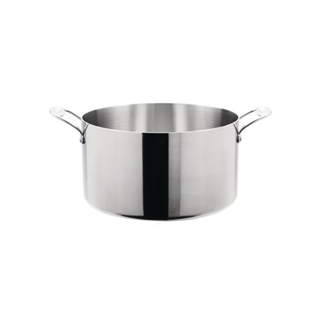 Vogue Tri Wall Stew Pan 9.5Ltr