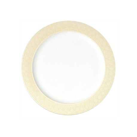 Churchill Alchemy Spin Cream Serving Plates 330mm