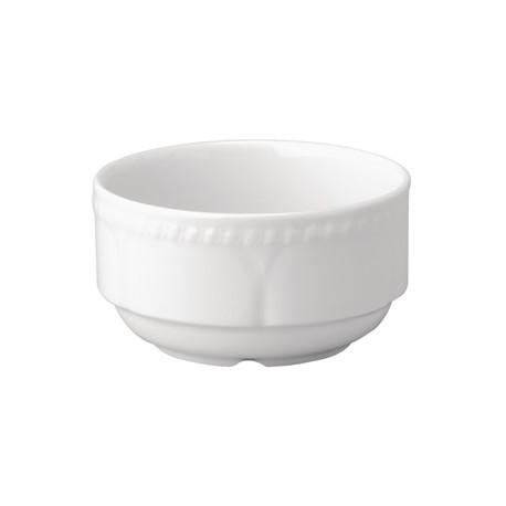Churchill Buckingham White Consomme Bowls