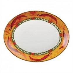 Churchill Salsa Oval Dishes 355mm
