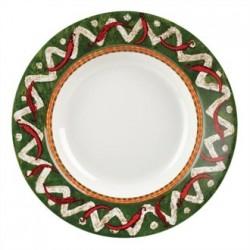 Churchill Salsa Rimmed Pasta Plates