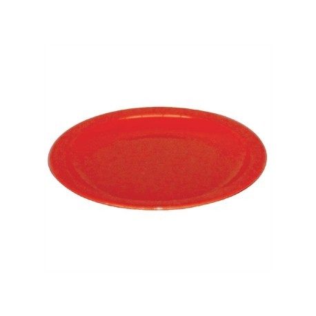 Kristallon Polycarbonate Plates Red 230mm