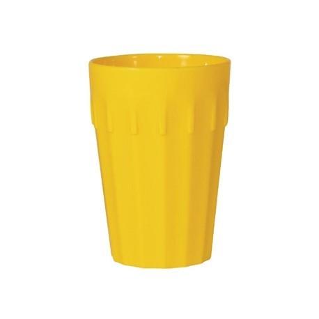Kristallon Polycarbonate Tumblers Yellow 260ml