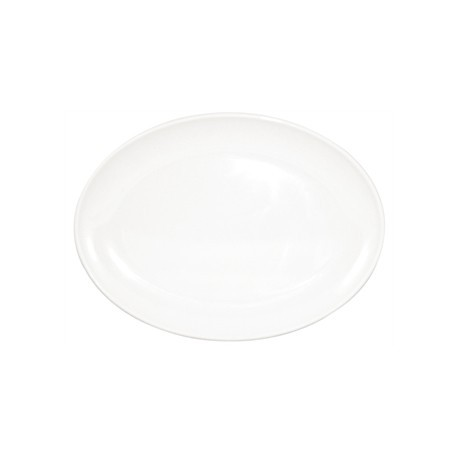 Kristallon Melamine Oval Coupe Plates 225mm