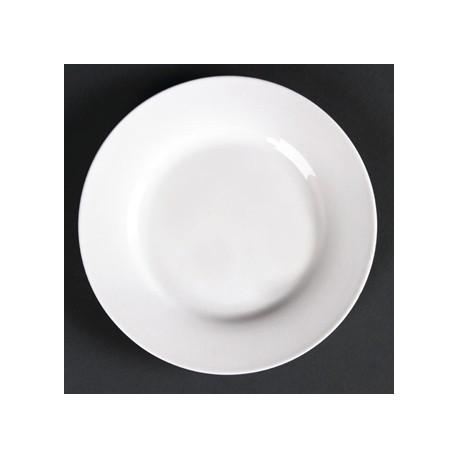 Lumina Wide Rim Round Plates 125mm