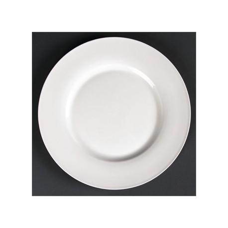 Lumina Wide Rim Round Plates 230mm