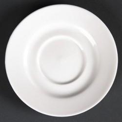 Lumina Fine China Round Saucers 110mm