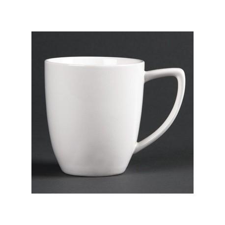 Lumina Fine China Latte Mugs 350ml 12oz
