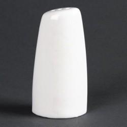 Lumina Fine China Oval Pepper Shakers