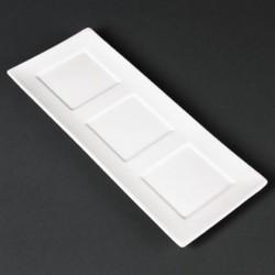 Lumina Fine China Platters 300x 120mm