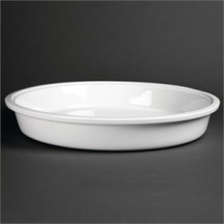 Olympia Whiteware Round Dish 3.7Ltr