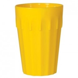 Kristallon Polycarbonate Tumblers Yellow 142ml