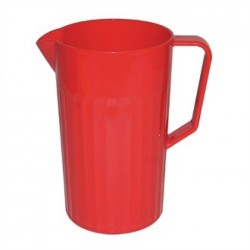 Kristallon Polycarbonate Jug Red 1.4Ltr
