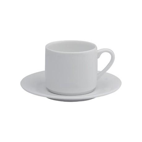 Elia Glacier Fine China Espresso Cups 100ml
