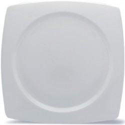 Elia Glacier Fine China Square Plates 310mm