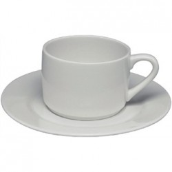 Elia Glacier Fine China Stackable Tea Cups 240ml