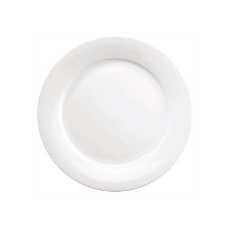 Churchill Art de Cuisine Menu Mid Rimmed Plates 254mm