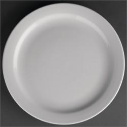 Athena Hotelware Narrow Rimmed Plates 226mm