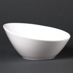 Lumina Fine China Oval Sloping Bowls 202mm