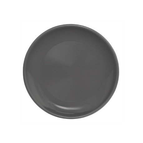Olympia Cafe Coupe Plate Charcoal 200mm