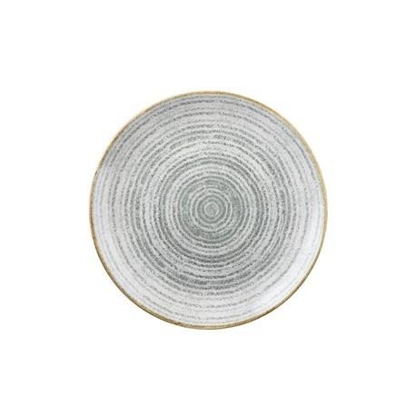 Churchill Studio Prints Stone Grey Coupe Plate 288mm