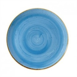 Churchill Super Vitrified Stonecast Duck Egg Blue Round Plate 324mm