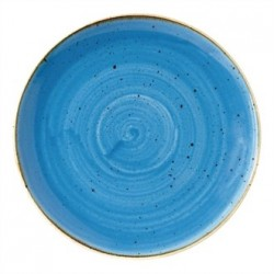 Churchill Super Vitrified Stonecast Duck Egg Blue Coupe Plate 217mm