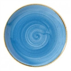 Churchill Super Vitrified Stonecast Duck Egg Blue Coupe Plate 165mm