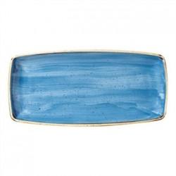 Churchill Super Vitrified Stonecast Duck Egg Blue Rectangular Plate 298mm