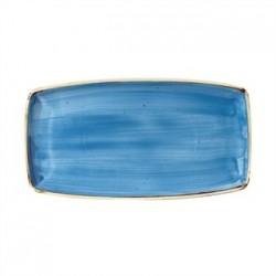 Churchill Super Vitrified Stonecast Duck Egg Blue Rectangular Plate 356mm