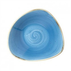 Churchill Super Vitrified Stonecast Duck Egg Blue Oval Plate 235mm