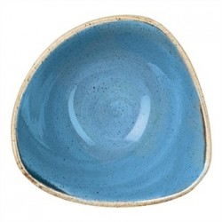 Churchill Super Vitrified Stonecast Duck Egg Blue Oval Plate 184mm