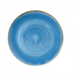Churchill Super Vitrified Stonecast Duck Egg Blue Oval Plate 311mm