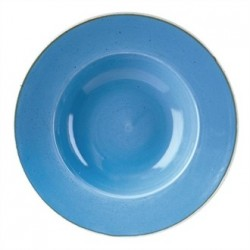 Churchill Super Vitrified Stonecast Duck Egg Blue Oval Plate 277mm