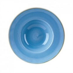 Churchill Super Vitrified Stonecast Duck Egg Blue Oval Plate 239mm