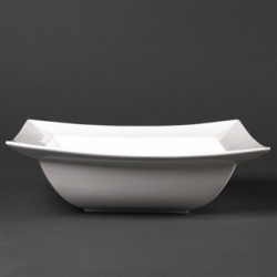 Lumina Wide Rimmed Square Bowls 260mm