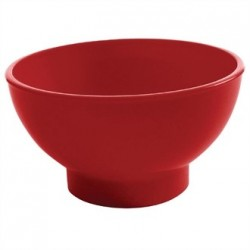 Kristallon Sundae Dishes Red 95mm