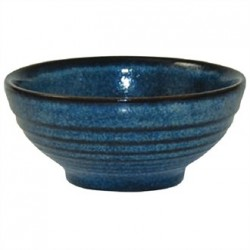 Churchill Bit on the Side Blue Ripple Snack Bowls 102mm