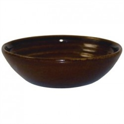 Churchill Bit on the Side Brown Ripple Dip Dishes 113mm