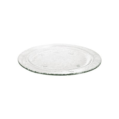 Olympia Round Glass Plates Clear 270mm