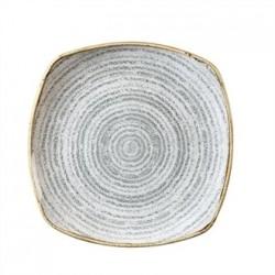 Churchill Studio Prints Stone Grey Square Plate 215mm