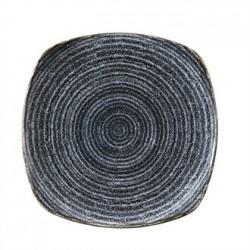 Churchill Studio Prints Charcoal Black Square Plate 252mm
