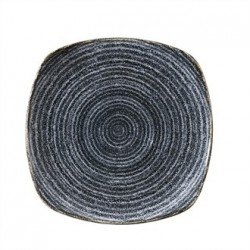 Churchill Studio Prints Charcoal Black Square Plate 215mm