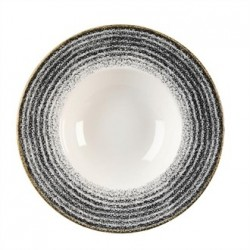 Churchill Studio Prints Charcoal Black Wide Rim Bowl 240mm