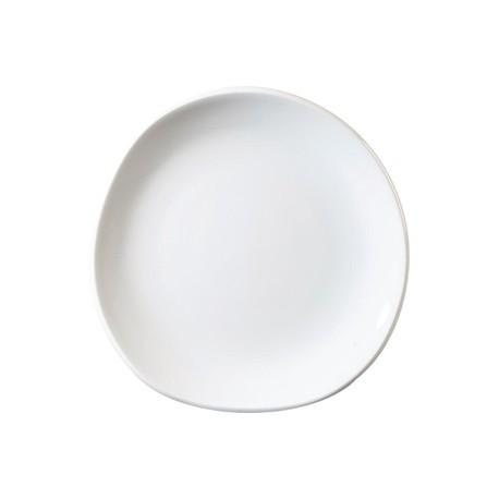 Churchill Organic White Round Plate 186mm