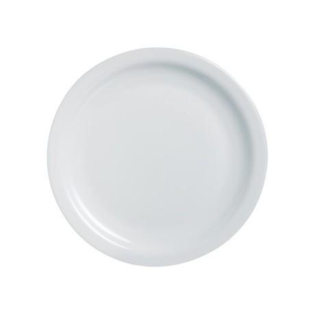 Arcoroc Opal Hoteliere Narrow Rim Plates 193mm