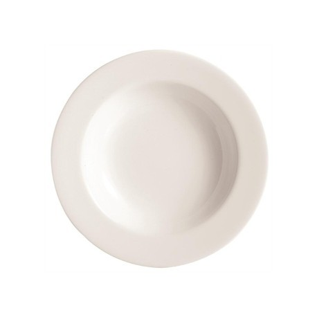 Chef and Sommelier Embassy White Deep Plates 230mm