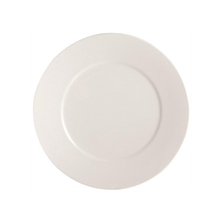 Chef and Sommelier Embassy White Flat Plates 210mm