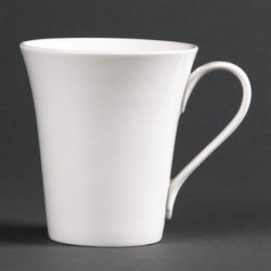 Lumina Fine China Flare Cups 285ml 10oz
