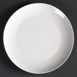 Lumina Fine China Round Coupe Plates 150mm